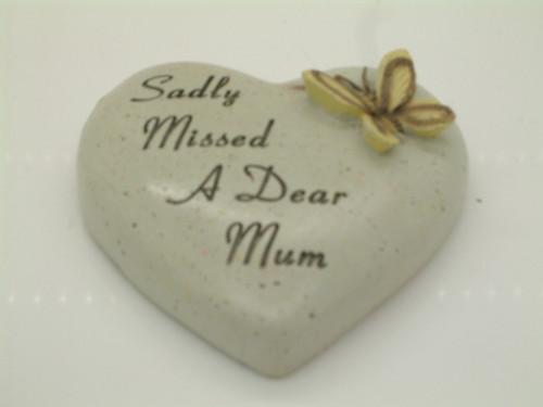 Sadly Missed A Dear Mum