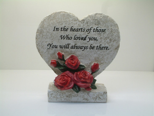 6107 - Heart Shaped Plaque