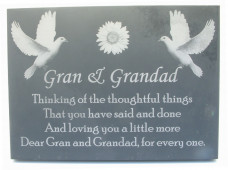 Slate Memorial - Small Size
