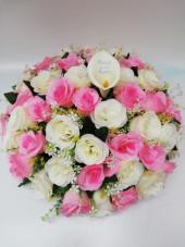 Large rose wreath