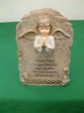 Praying angel - Plaque