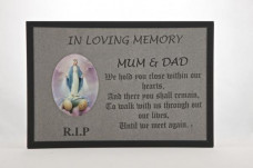 Grey Slate Plaque