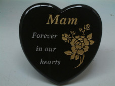 Rounded Heart Plaque