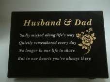 Granite Grave Plaque - Large