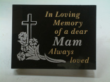 Granite Grave Plaque- Small