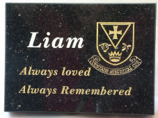 GAA Memorial Plaque