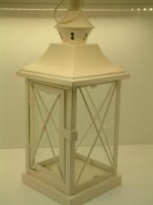 White Crossed Lantern