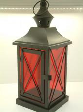 Black Crossed Lantern